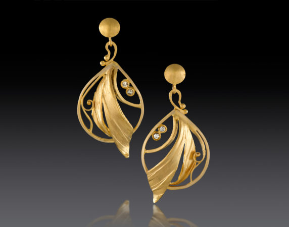 Earrings-18k- Diamonds-Jewelry-Design